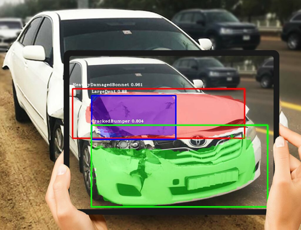 Car Damage Detection Technology at Autorox