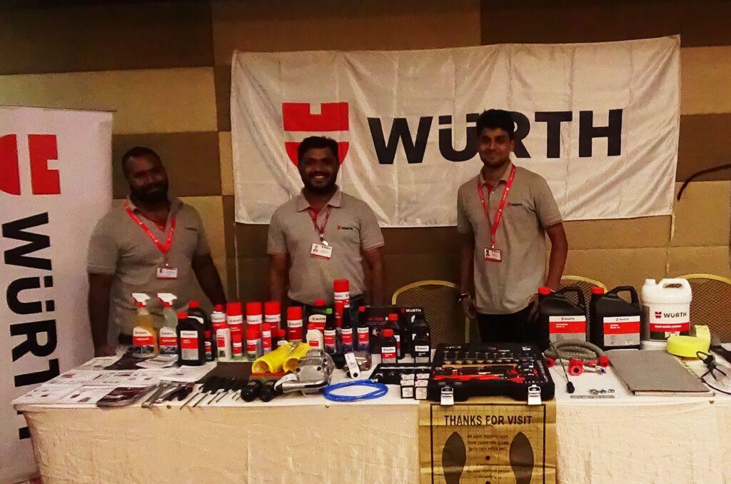 Workshop Owner Association Meets Hyderabad Wuerth