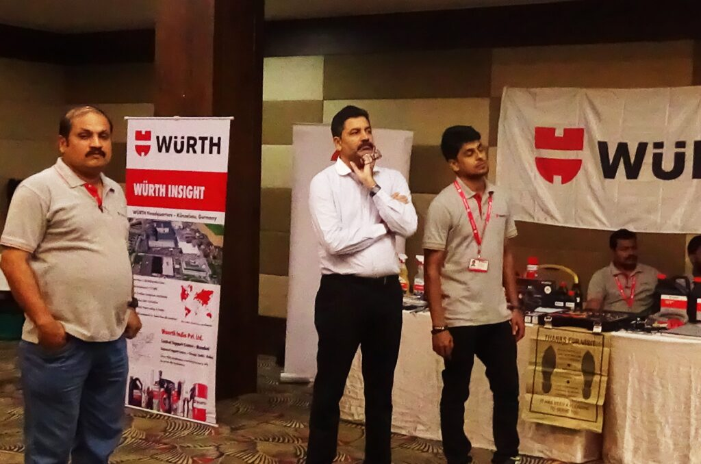 Workshop Owner Association Meets Wurth Kerala
